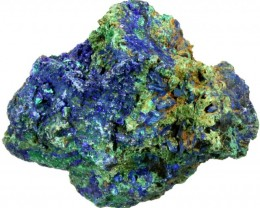 156.10 CTS AZURITE+ MALACHITE  ROUGH -CHINA [F7204]