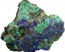 318.05 CTS AZURITE+ MALACHITE  ROUGH -CHINA [F7209]