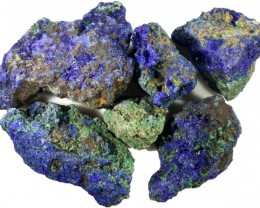 377.65 CTS AZURITE+ MALACHITE  ROUGH PARCEL-CHINA [F7214]