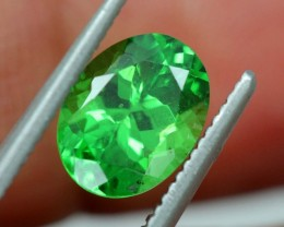 1.95 CTS NATURAL TSAVORITE GREEN GARNET  TBM-1166  GC