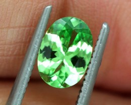 1.05 CTS NATURAL TSAVORITE GREEN GARNET  TBM-1168  GC