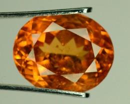 RARE 3.80 ct Natural Orange Spessartite Garnet