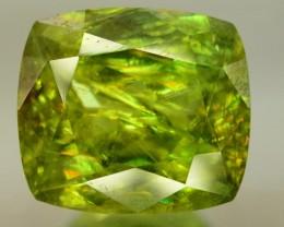 5 cts Rare Full Fire Green Sphene Titanite Gemstone