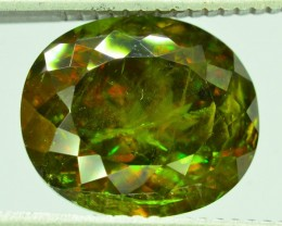 GiL Certified 6.90 ct Sphene Color Change SKU.1
