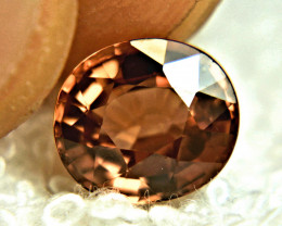 3.70 Rootbeer Color VVS Zircon - Gorgeous