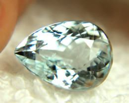 3.76 Carat VS/SI Medium Blue Himalayan Aquamarine - Gorgeous
