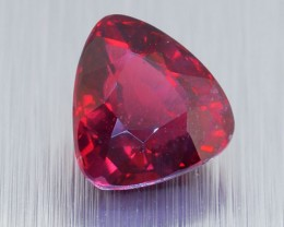 "Untreated RED Spinel ""Pigeon Blood"" 1.48 Ct. - (00713) <RA"