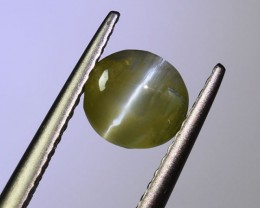 "UNTREATED Ceylon Chrysoberyl Catseye 1.48 Ct. "" Nice COLOUR"" (005"
