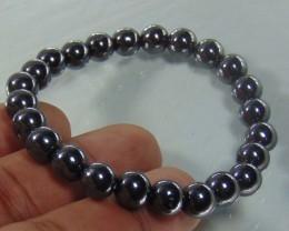 Hematite Natural Stone Bracelet 8mm