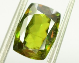 NO Reserve ~ 1.80  cts Rare Full Fire Green Sphene Titanite Gemstone