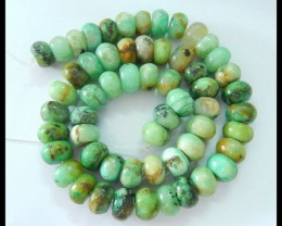 Natural Chrysocolla Loose Beads,11x7mm,345ct,38.5cm In The Length(17051902)