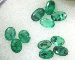 1.95CTS EMERALD FACETED PARCEL 11PCS CG-2238