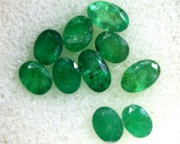 1.85CTS EMERALD FACETED PARCEL 10PCS CG-2244