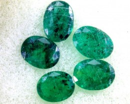 2.90CTS EMERALD FACETED PARCEL 5PCS CG-2246