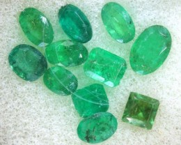 2.60CTS EMERALD FACETED PARCEL 11PCS CG-2248