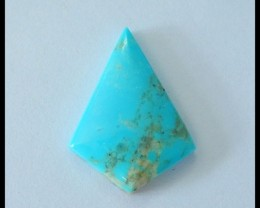 Fashion Natural Turquoise Cabochon,26x19x5mm,11ct(17052110)