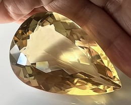 250.00cts EXCEPTIONAL CITRINE - HUGE SIZE ; QUALITY GEM