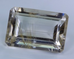 Awesome Rutilated Quartz from Madagascar - NR Auctions