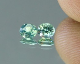 Bicolor Sapphire Pair North of Madagascar - NR Auctions