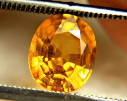 2.40 Carat African Yellow VS/SI Sapphire - Superb