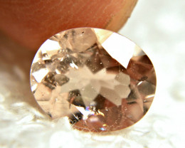 CERTIFIED - 3.42 Carat Salmon Brazil Morganite - Superb