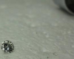 0.21 ct diamond F VVS