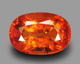 10.46 Cts Wonderful Orange Color Natural Mozambique Spessartite Garnet