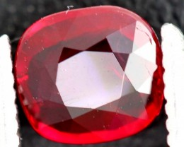 "1.00CTS CERTIFIED UNHEATED ""pigeon's blood""  RUBY ANGC-726"