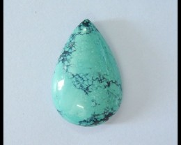 Natural Turquoise Water Drop Cabochon,26x17x6mm,19.5ct(17052403)