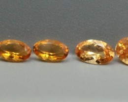 SPESSARTITE GARNET OVAL SHAPED PARCEL