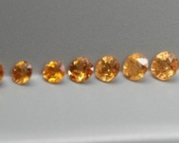 SPESSARTITE GARNET ROUND SHAPED PARCEL