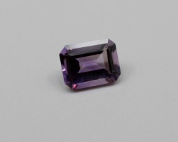 AMETHYST GEMSTONE EMERALD CUT