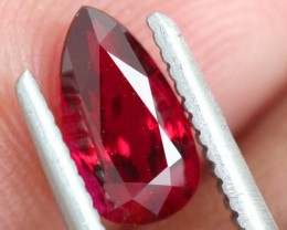 1.01CTS CERTIFIED UNHEATED RUBY FACETED ANGC-731