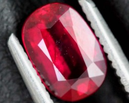 1.22CTS CERTIFIED UNHEATED RUBY FACETED ANGC-732
