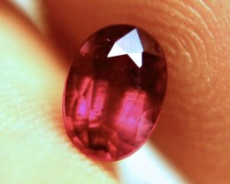1.13 Carat Fiery Pigeon Blood Ruby