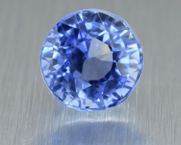 Unheated Natural Ceylon Blue Sapphire Round Mix Cut 1.57 Ct (00811)