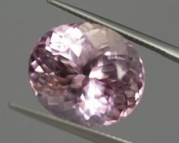Pink Kunzite 20.45 ct Afghanistan GPC Lab