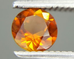 0.55 Crt Natural Citrin Faceted Gemstone (M 21)