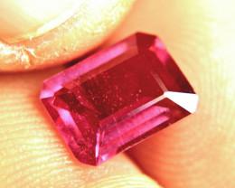 3.40 Vibrant, Fiery Ruby - Superb