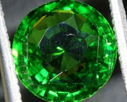 2.52CTS TSAVORITE GARNET GEMSTONE FACETED ANGC-741