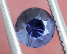 0.55CTS BLUE SPINEL GEMSTONE FACETED STONE ANGC-743