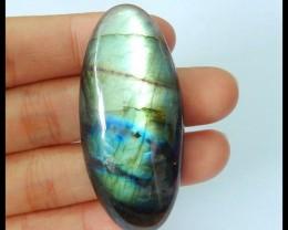 Natural Flashy Labradorite Cabochon,51x23x9mm,83.5ct(17052708)