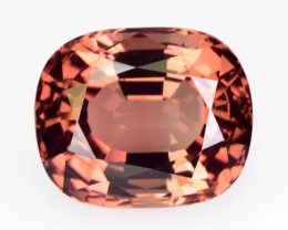 ~IMPERIAL COLOR~ 9.38 Cts Natural Tourmaline Cushion Mozambique