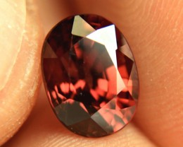 4.50 Carat Fiery Red VVS1 Zircon