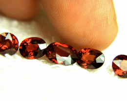 9.09 Tcw. VVS Fiery Red African Spessartite Garnet - Superb