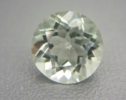 3.30 Crt Natural Prasiolite  Faceted Gemstone (M 22)