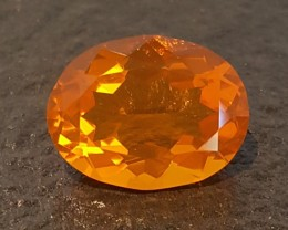 5.80 ct MEXICAN FIRE OPAL - MASTER CUT!  FLAWLESS!