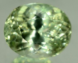 21.60 ct Greenish Spodumene Gemstone