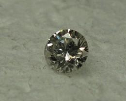 0.09 ct diamond I SI2