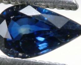 0.92CTS CERTIFIED AUSTRALIAN BLUE SAPPHIRE GEMSTONE TBM-1181